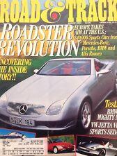 Road & Track Magazine Mercedes-Benz & Porsche August 1994 070518nonrh