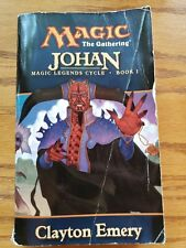 MTG Book Johan, Clayton Emery 2001 Magic the Gathering Books