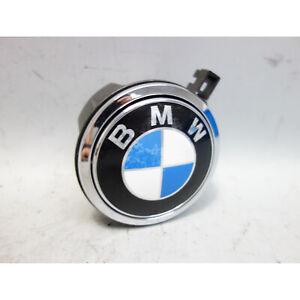 BMW E63 E64 6-Series Z4 E86 Trunk Boot Lid Emblem w Lock Latch 2004-2010 OEM
