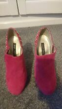 Brand New shade platform Heeled Shoe Size 4 with gold studs