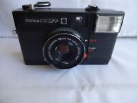 Vintage Konica C35 EFP  35 mm F4 Lens Made in Japan