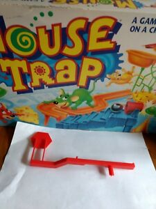 MOUSE TRAP Board Game Replacement Parts #6 Red Stop Sign ONLY 1994