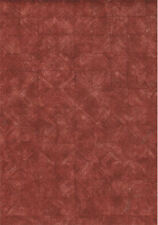 Red Squares Basket Weave Look Wallpaper   80-64274