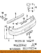 MITSUBISHI OEM 94-98 3000GT Rear Bumper-Decal sticker MR109957