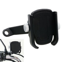 Universal Rotatable Phone Bracket For Motorcycle ATV Scooter Rear View Mirror