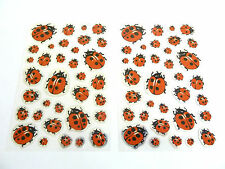 Ladybird Stickers for Kids, Children LS05 Fun Labels for Party Bags, Decoration