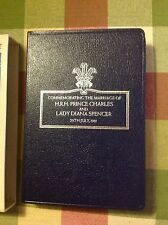 Princess Diana: ROYAL WEDDING COMMEMORATIVE BIBLE SLIPCASE 1981 BOOK RARE