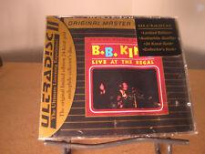 B.B. KING Live At Regal MFSL 24 KARAT GOLD SEALED AUDIOPHILE LIMITED RARE CD