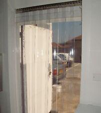 Anti-Bacterial PVC Strip Curtain - 2m (w)  x 2.25m (d) - 200mm x 2mm Strip
