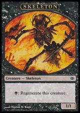 10 Token Cards - SKELETON - Shards of Alara - SAME ART - NM/SP - Magic MTG FTG