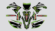 MONSTER KAWASAKI KXF 250 2009-2012 KXF 450 2009-2011 DECAL STICKER GRAPHIC KIT
