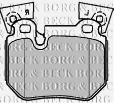 BBP2219 BORG & BECK FRONT BRAKE PADS fits BMW 1 Series 135ifits E82,88 07-