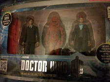 Dr who  day of the doctor   10th  11th doctor and zygon   4  inch figure set