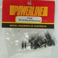 POWERLINE P1500 BLACKENED WHEEL SET SUIT 48/830 & 81 CLASS