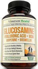 Joint Pain Relief Supplements Glucosamine Best Health Support Men Women Booster