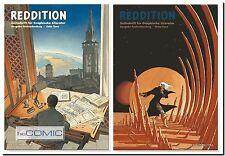 Reddition 65 rivista grafica fumetto giornale dossier Andreas & F. Schuiten