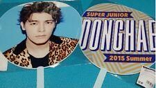 KPOP Super Junior DONGHAE Big Uchiwa Fan Summer 2015