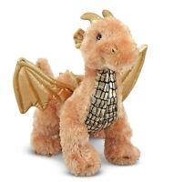 Dragon Plush Toy - Brand New - Melissa & Doug Lustre Dragon Plush Soft
