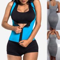 Fajas Reductoras Colombianas Body Shaper Sauna Waist Trainer Heat Shapewear Vest
