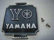 MOTORCYCLE SISSY BAR PERSONALIZED PLATE YAMAHA