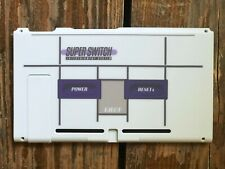 Nintendo Switch Housing Shell Case Replacement Backplate Back Custom SNES