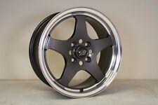 "1 x Rota J-SPL 15"" alloy Mx5 VW POLO GOLF LUPO Colt CIVIC MR2 Toyota Swift 4x100"