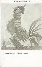 C810) WW1 SATIRICA, GUGLIELMO GALLETTO IL NUOVO CHANTECLER.