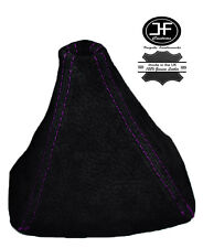 PURPLE STITCH REAL SUEDE GEAR GAITER SHIFT BOOT FITS HONDA S2000 1999-2009