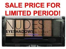 Technic 6 Shades Blendable Eyeshadow Palette Shimmer Matte Brush Smokey Eye Nudes