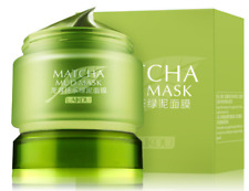Best Green Tea Matcha Facial Mud Mask, Removes Blackheads, Reduces Wrinkles 85g