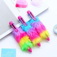 Pretty Plush Feather Ballpoint Pen Rollerball Pen Child School supplies Kid