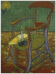 Gauguin's Chair (Vincent van Gogh), jigsaw puzzle, 610mm×457mm, 500pcs