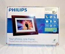 "USED PHILIPS LED 10.1"" Electronic Picture Frame Brown SPF3402S/G7"