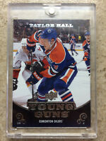 10-11 UD Serie 1 RC Rookie YG Young Guns #219 TAYLOR HALL