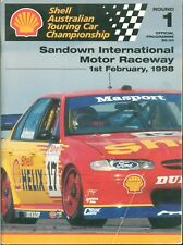 1998 ATCC Sandown Round 1 Programme