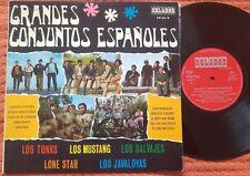 "SPANISH PSYCH BEAT 10"" Comp LOS TONKS MUSTANG SALVAJES JAVALOYAS LONE STAR EX/EX"