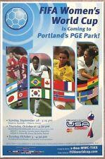 SOCCER 2003 FIFA Women's World Cup POSTER Portland Oregon SHANNON MACMILLAN