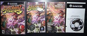 Super Mario Strikers - Nintendo GameCube, 2005 - Complete, CIB!