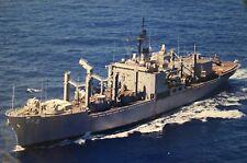 USS WHITE PLAINS 8X10 PHOTO AFS-4 NAVY US USA MILITARY MARS COMBAT STORE SHIP