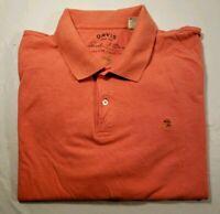 Orvis Signature Collection Men's Collared Short Sleeve Polo Golf Shirt Sz. XXL