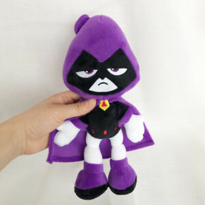 Teen Titans Go Raven 3D stuffed plush toy soft doll kid's gift 27 cm