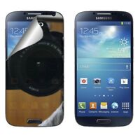 Samsung  Galaxy S4 Mini I9190 2X Pack Mirror Screen Protector LCD Phone Cover