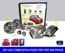 Fari Fiat 500 Epoca Vecchia fanali luci stop frecce fanalini laterali per kit 8