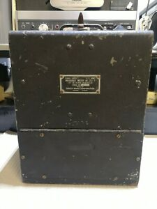 WW2 US Army Signal Corps Frequency Meter BC-221-T Zenith Radio corporation #2625