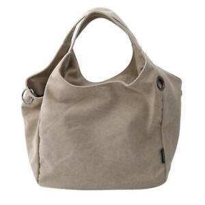 Women Handbag Leisure Large Capacity Summer Canvas Shoulder Casual Bag