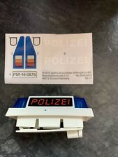 Playmobil Polizei Electronic Flashing Light & Stickers Spare Parts