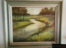 "Beautiful Original Oil Painting ROCHESTER Artist NANCY MORRISON 27"" x 31"""