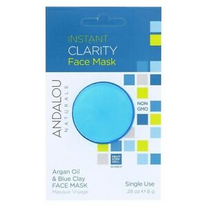 Andalou Naturals Instant Clarity Argan Oil & Blue Clay Face Mask