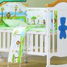 5pcs/Set New Baby Bedding Crib Cot Sheet Poly/Cotton Cloud Printed+Pillowcase ..