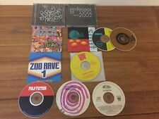 Dance Trance Cd Lot 10 Underworld Fischerspooner Lush Deee Lite Pulp Fiction +